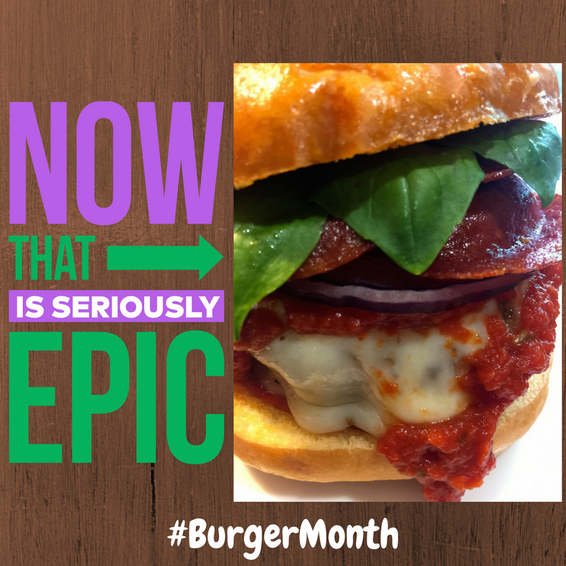 Ultimate Pizza Burger Burger Month Girl Carnivore