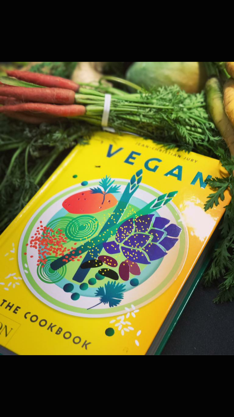 Vegan Cookbook Jean-Christian Jury