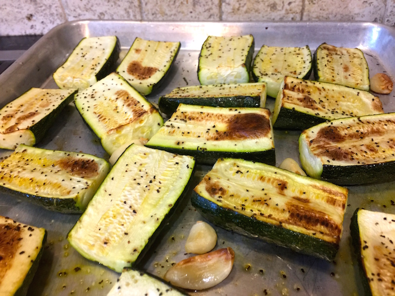 Roasted Zucchini Butter