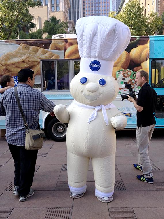 Pilsbury Dough Boy