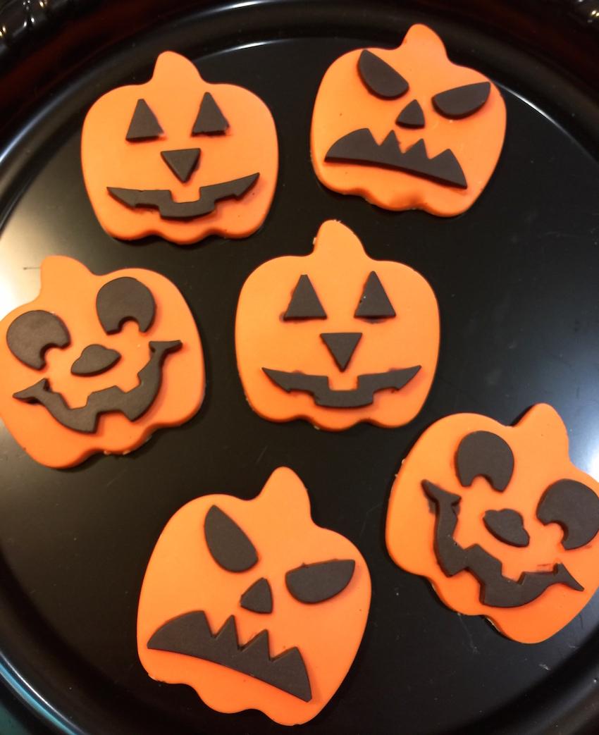 Jack O'Lantern Cupcakes