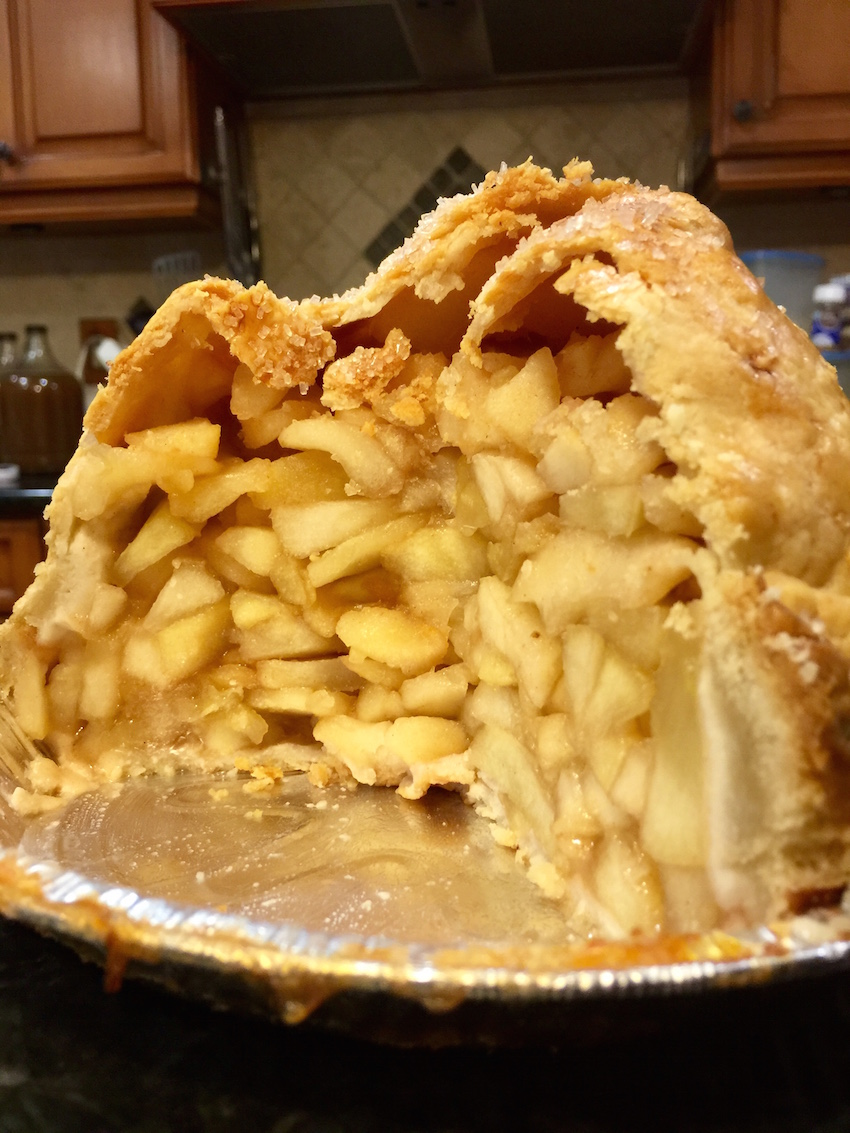 Oak Glen Mile High Apple Pie