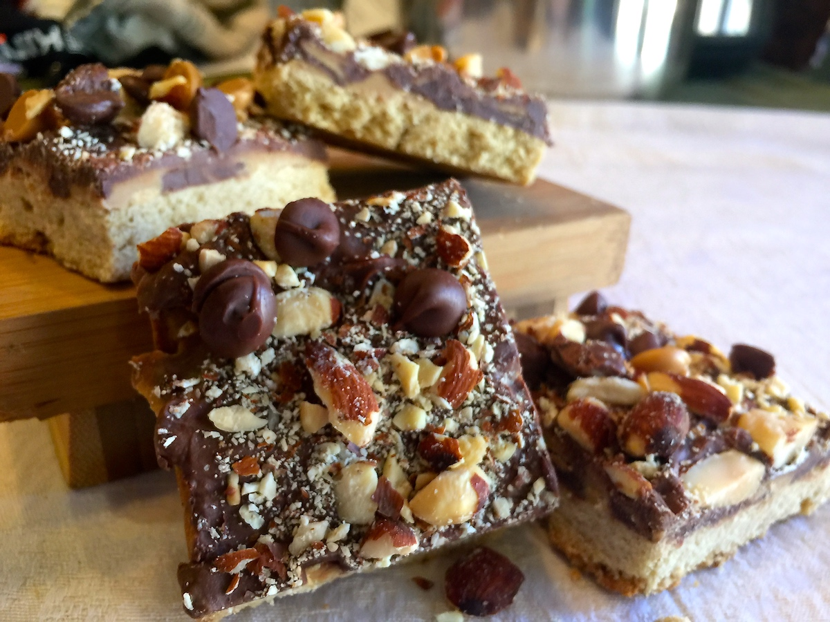 Chocolate Toffee Almond Bars And A GIVEAWAY!