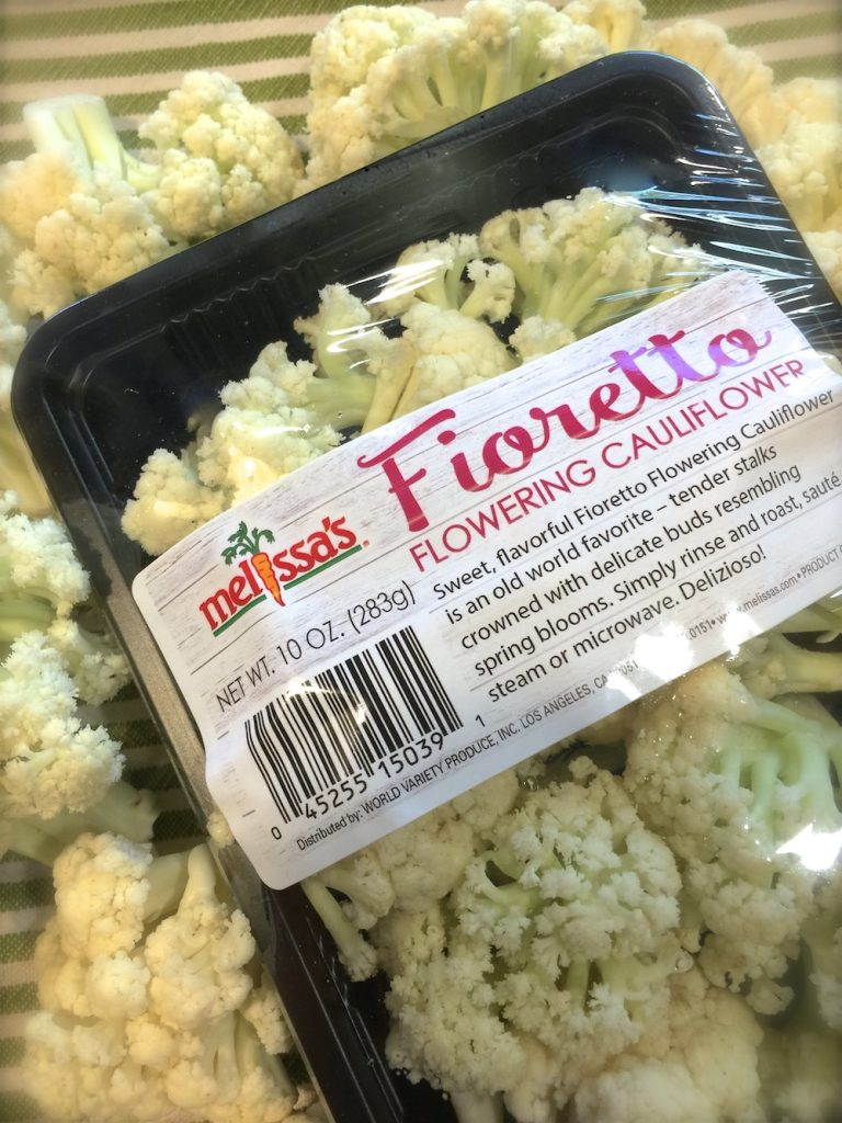 Fioretto Flowering Cauliflower Melissa's Produce Breakfast Hash