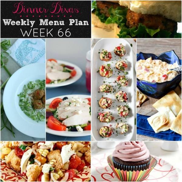 Dinner Divas Weekly Menu Plan – Week 66