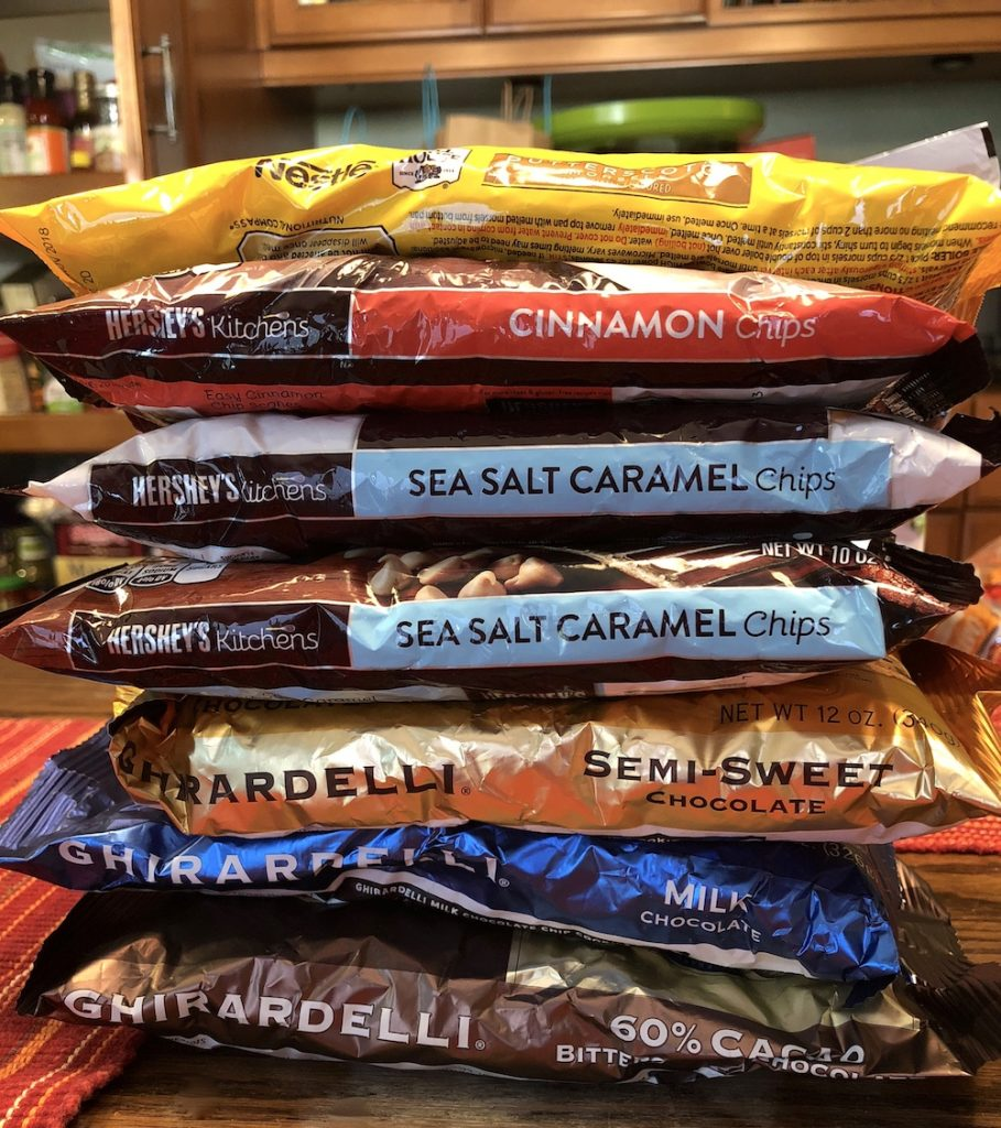 Chocolate and Carbs: View from a pantry