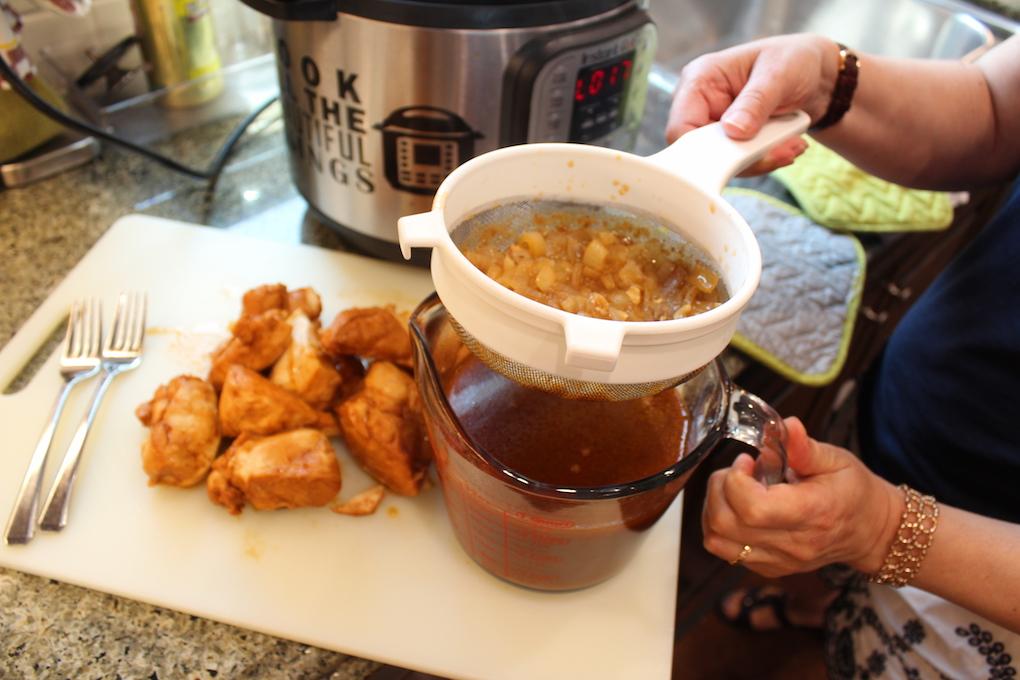Instant Pot BBQ Chicken Sliders