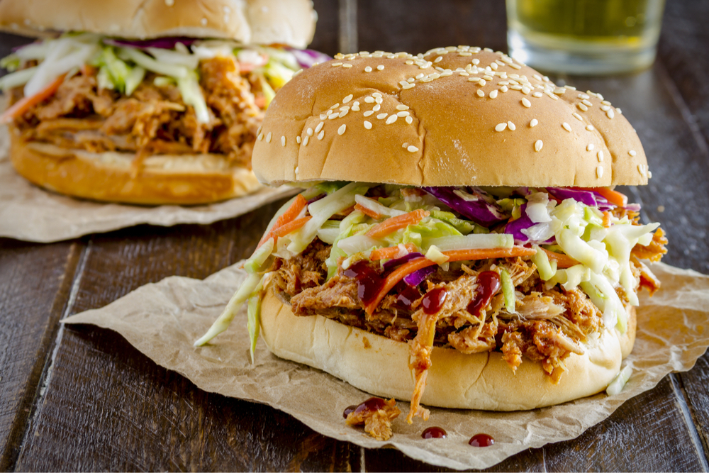 Instant Pot BBQ Chicken Sliders