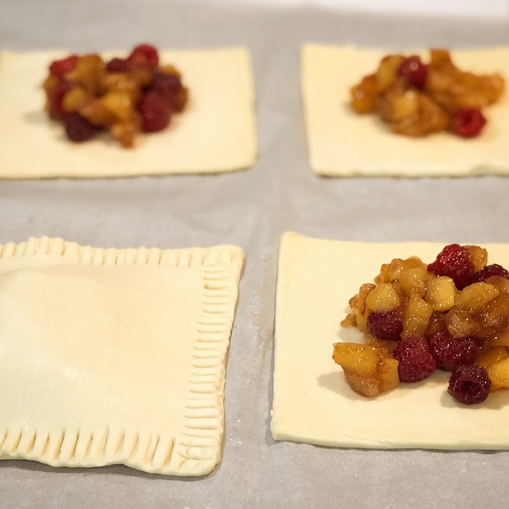 Raspberry Apple Hand Pies