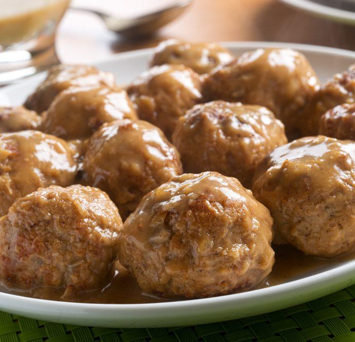 Instant Pot Meatball Stroganoff
