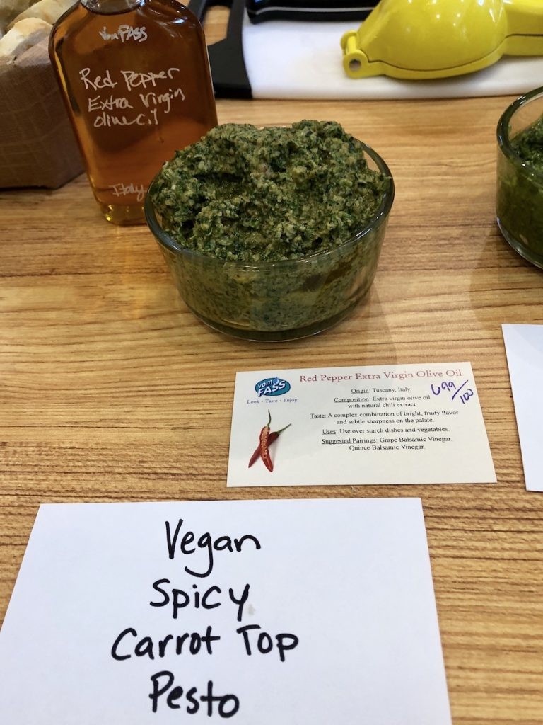 Vegan Carrot Top Pesto