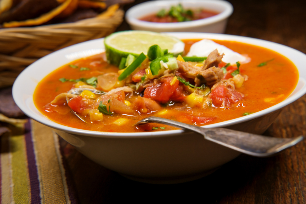 California Pizza Kitchen Corn Tortilla Soup Recipe