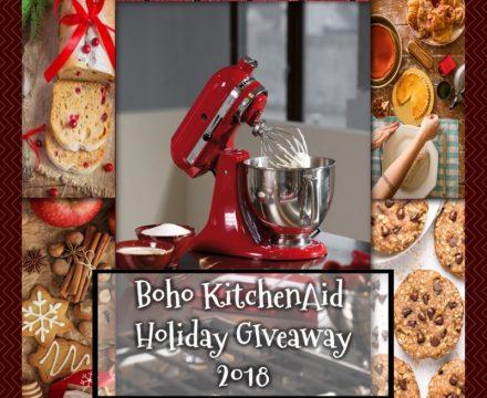 BOHO Holiday KitchenAid Giveaway!