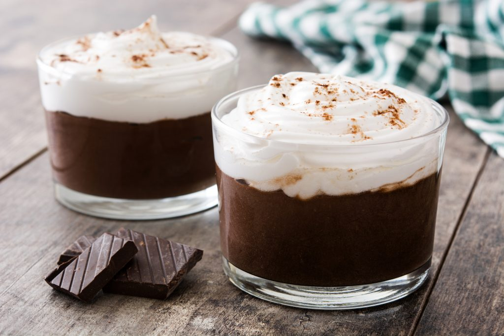 Instant Pot Mocha Pudding