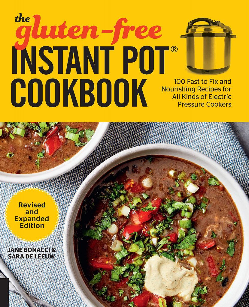 Gluten Free Instant Pot Cookbook cover