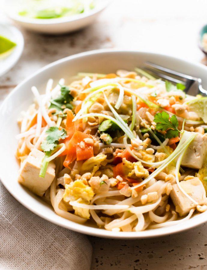 Instant Pot Vegetarian Pad Thai