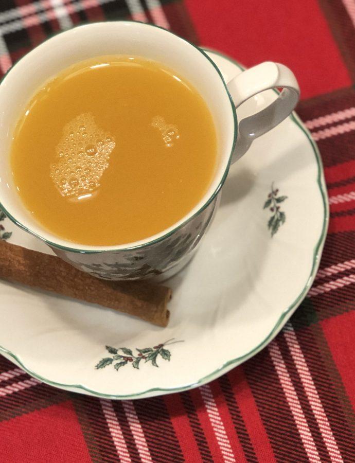 Ginger Persimmon Turmeric Tea