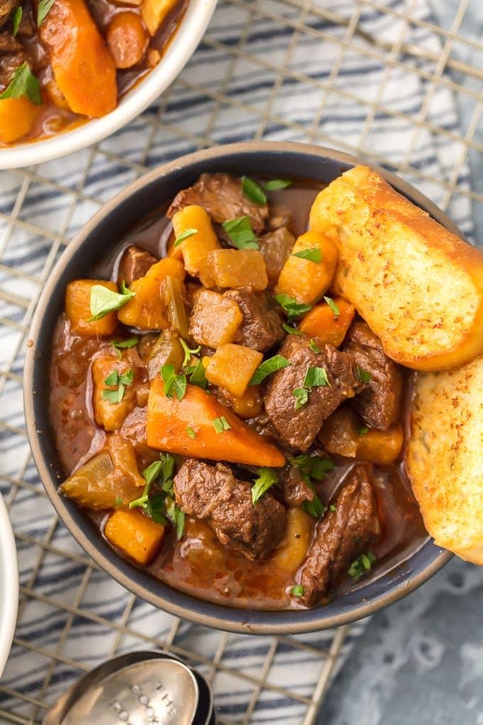 10 Winter Soups & Stews