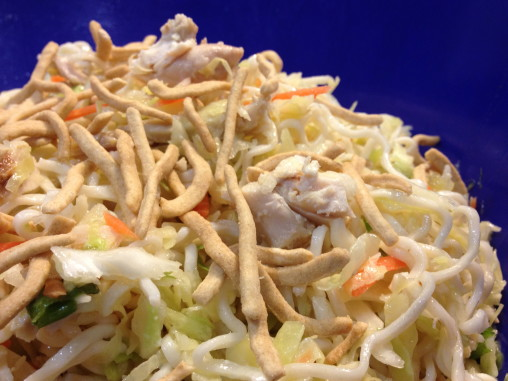 Cheap & Easy Chinese Chicken Salad!