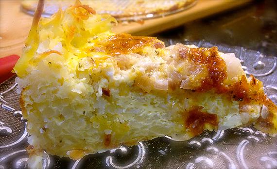 Quiche Hash Brown Crust