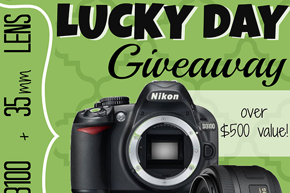 Feeling Lucky? A Nikon Giveaway!