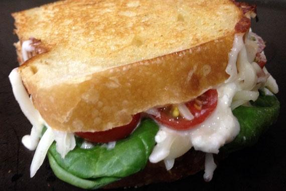 Lasagna Grilled Cheese Sandwich