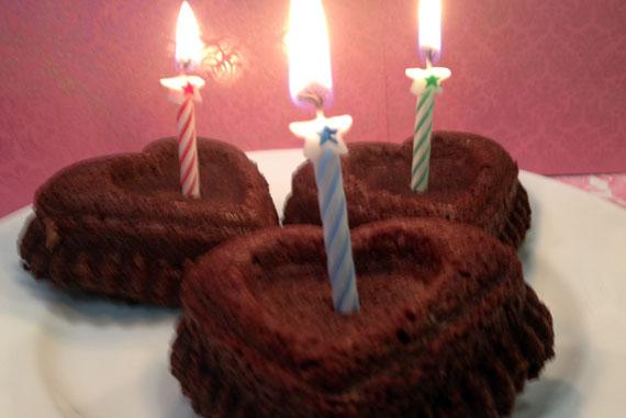 Brown Butter Hazelnut Birthday Brownies