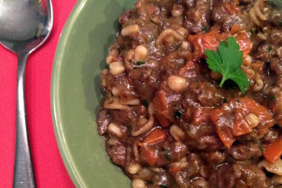 Beef Skillet Stew