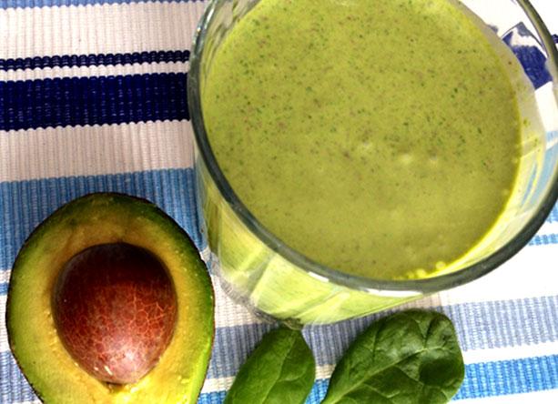 Avocado & Chocolate! It's a Smoothie!