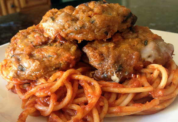 Wild Oats Spaghetti and Beetballs