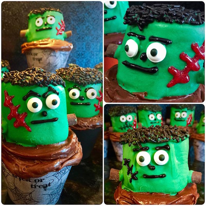 Chocolate Cupcakes for Halloween (and the IECupcake Fair!)