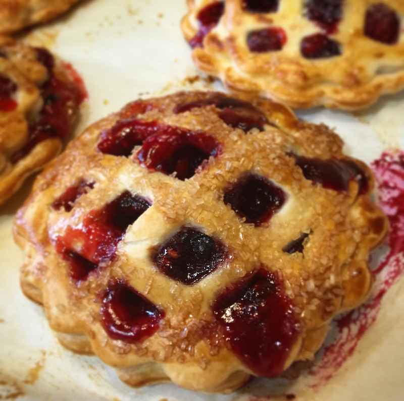 Mixed Berry Hand Pies for #SundaySupper