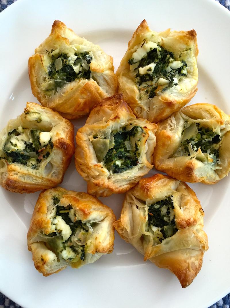 Spanakopita Bites for #SundaySupper