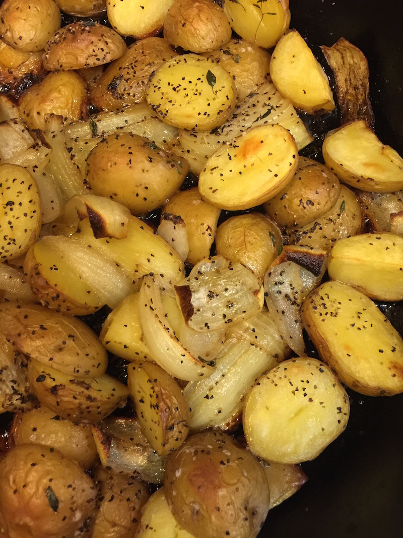 Thyme Roasted Potatoes
