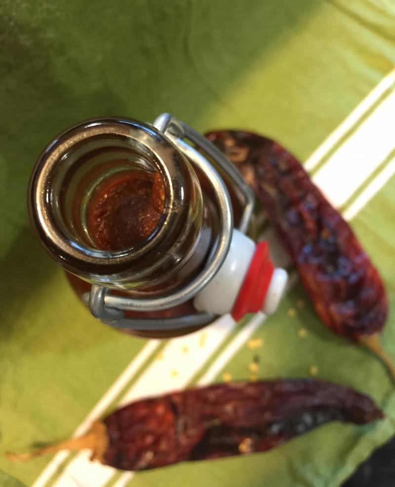 DIY Hatch Chile Taco Sauce