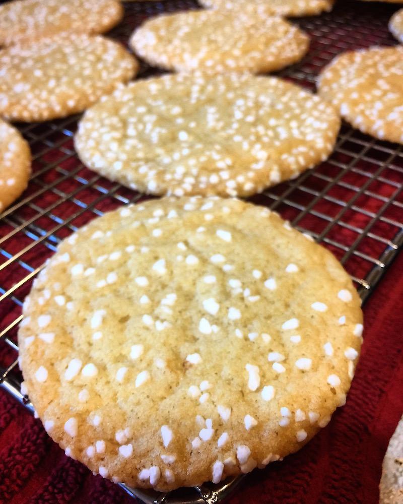 Vanilla Polka Dot Cookies
