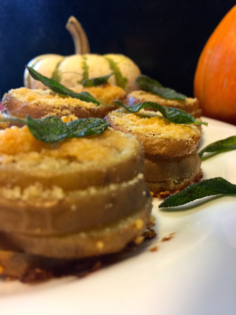 Stacked Sweet Potatoes for #SundaySupper
