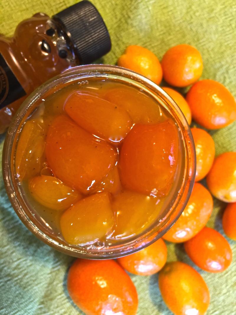 Kumquats in Honey Syrup