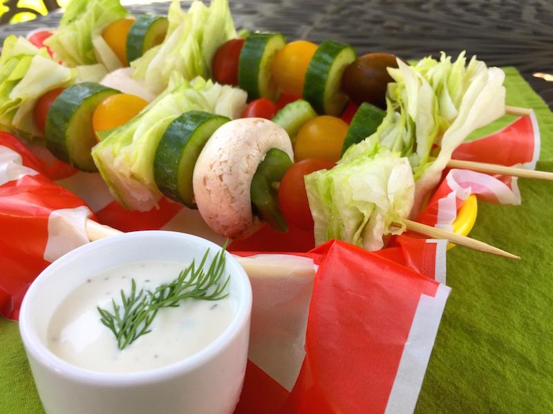 Salad On A Stick for a Summer #SundaySupper