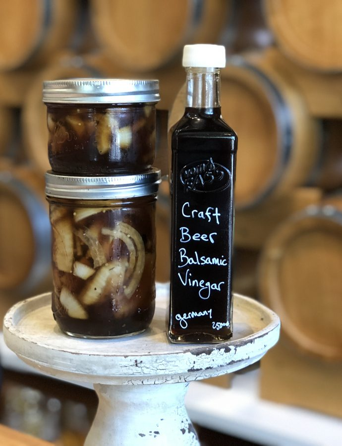 Craft Beer Balsamic Onions