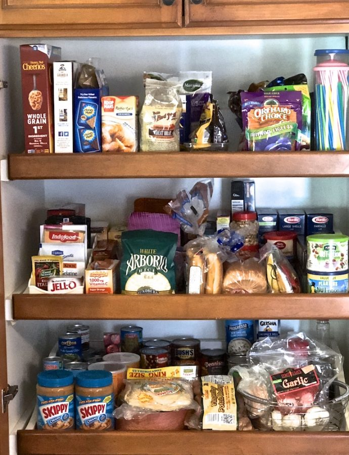 Chocolate and Carbs: The view from my pantry