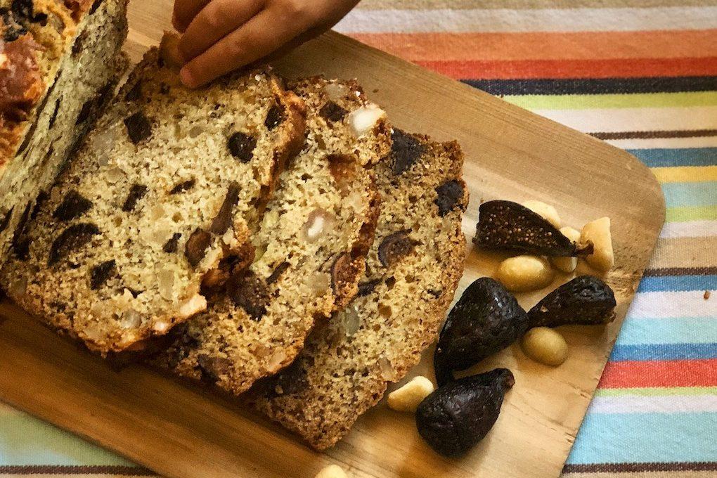 California Fig Banana Bread