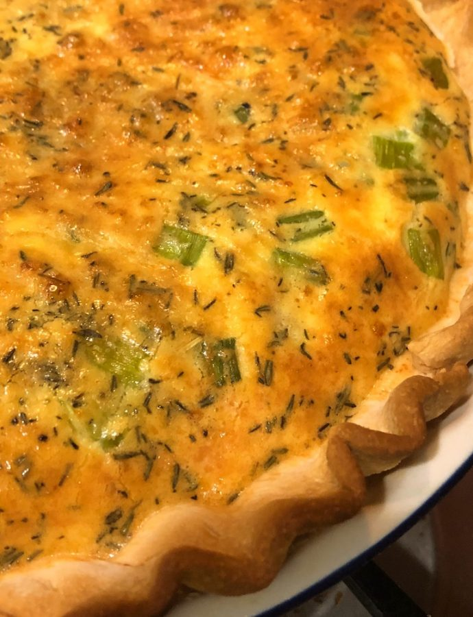 The Kitchen Sink Quiche