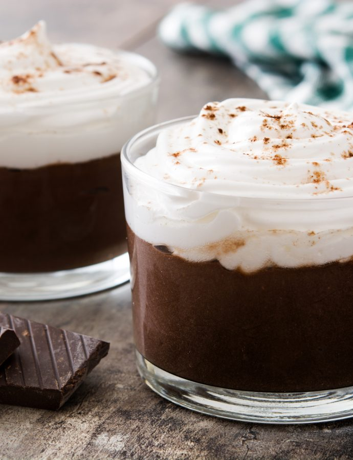 Mocha Pudding in the Instant Pot!